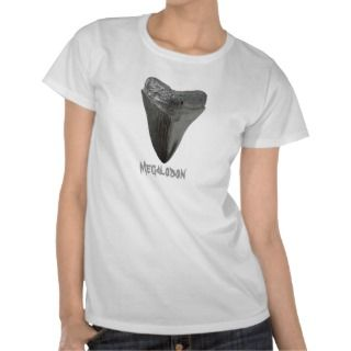 Megalodon Tooth T Shirts