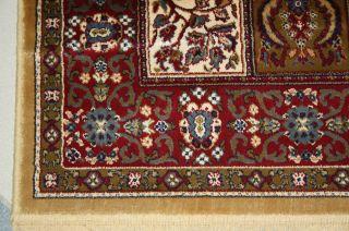 70x140 Kashmir Läufer Teppich Seide Feld Perser Berber