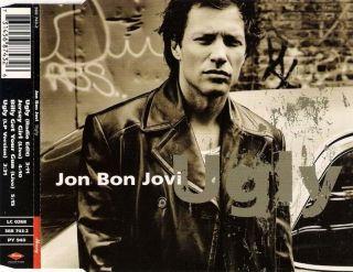 JON BON JOVI # UGLY # JERSEY GIRL (LIVE) # RARE MAXI CD