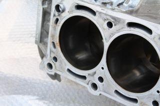 Mercedes Benz AMG M156 SL63 Motorblock + Stirndeckel + Kurbelwelle
