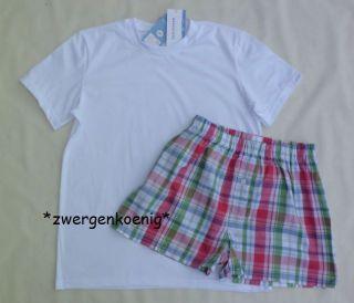 Shorty T Shirt & Boxer best karo Gr. 164 176 188 sale