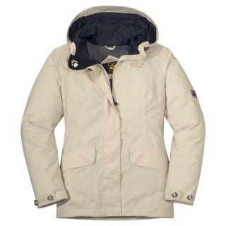 JACK WOLFSKIN Queens Jacket Women ivory M Wanderjacke eUVP 179,95€