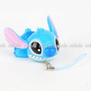 Lilo & Stitch Blinkender Handyanhänger Band Blau E8G197