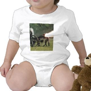 Civil War Cannon Romper