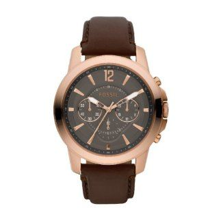 Fossil Herren Armbanduhr Dress Rose Gold Ip Quarz Analog Fs4648