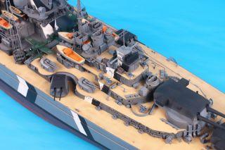 German Battleship Bismarck 1/200 Trumpeter Bausatz 03702 Neuheit