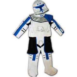 Neu Star Wars Clone Trooper Kostüm gr 128 140 Spielzeug