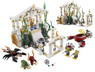 NEU LEGO Atlantis 7985 Tempel von Atlantis City of Atlantis