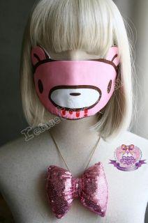 VICIOUS KAWAII GLOOMY BEAR CUTiE PUNK CUTOUT Face Mask