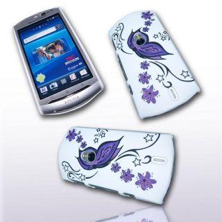 Handy Tasche Hard Case Cover JG Design f. Sony Ericsson Xperia Neo