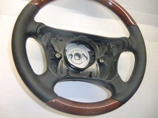 Holzlenkrad Lederlenkrad Airbag Lenkrad Mercedes Benz E Klasse W210