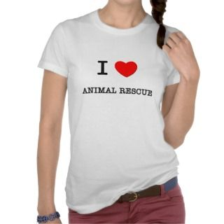 LOVE ANIMAL RESCUE T SHIRTS