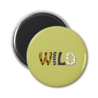 Wild Animal print magnet