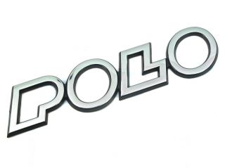 Genuine New VOLKSWAGEN POLO BADGE 1995 2000 For Polo Classic 1996 2002