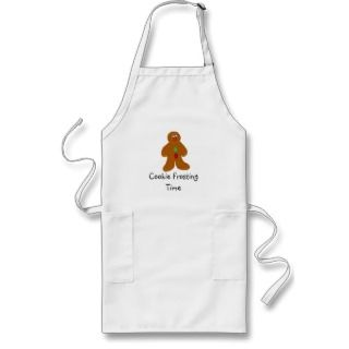 delightful little gingerbread man accents this cookie frosting time