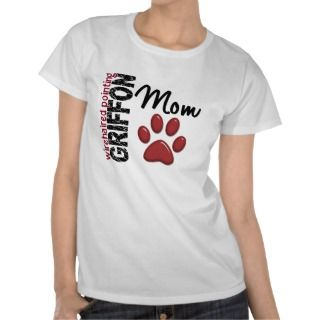 Wirehaired Pointing Griffon Mom 2 Tee Shirts