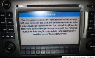 Fiat Stilo Abarth 192 Navi Radio GPS Telefon Navigationssystem 01 04