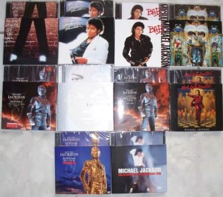 Michael Jackson Limited Edition Promo Box Set CD DVD LP