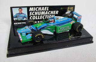 43Minichamps  Benetton Ford B 194 SchumacherNr. 11OVP / 5 P