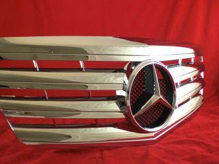 W211 S211 211 07  Mercedes Benz E Kühlergrill grill Chrom + Stern