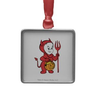 Casper in Devil Costume Christmas Ornament