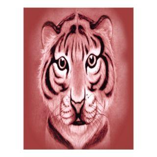 Baby Tiger Cub* portrait Design Personalized Flyer