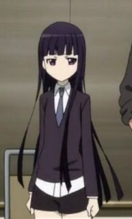 Inu × Boku SS Ririchiyo Shirakiin Cosplay Wig Costume 100Cm