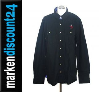 Gaastra Herren Hemd Shirt Warp schwarz Gr. XXL