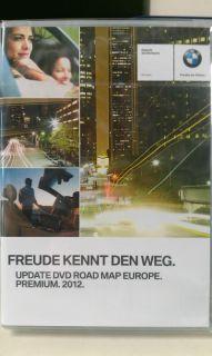 BMW Navi DVD Road Map Europe Premium Professional 2012 Update