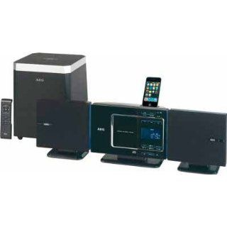 AEG MC 4451 2.1 Stereo Kompaktanlage (CD/MP3/WMA Player, SD Kartenslot