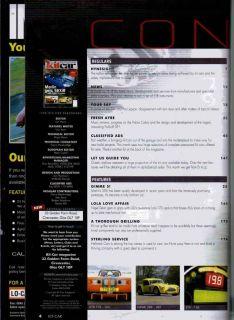 Kit Car Magazine 7/07 Marlin 5EXi R, GD Lola T70, Hallmark Cars
