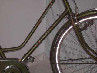 Gazelle 28 Zoll Damen Holland Fahrrad grün Torpedo Frei