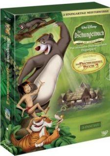Das Dschungelbuch 1 + 2 (Box Set)  3 DVD NEU 224