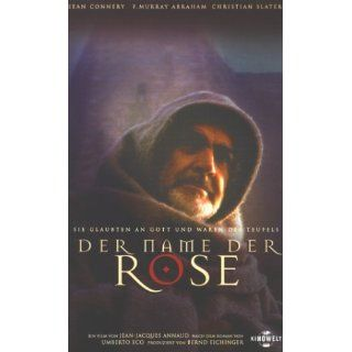 Der Name der Rose [VHS]: Sir Sean Connery, F. Murray Abraham, Feodor