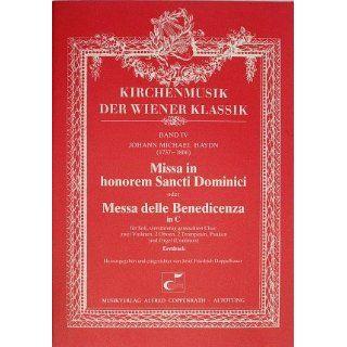 Haydn Missa in honorem Sancti Dominici (MH 419mh). Partitur