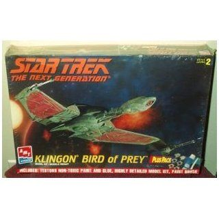 STAR TREK   Klingon Bird of Prey   Raumschiff Modell super rar aus dem