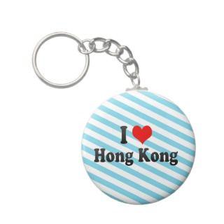 Love Hong Kong, Hong Kong Keychain