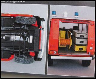 Revell 07366 124 Mercedes Benz 230G Feuerwehr