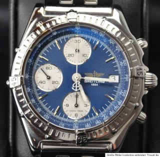 Breitling Windrider Chronomat A13048 in Stahl Mit Pilotband __26