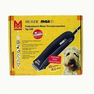 Schermaschine Moser Max 45 Professionelle Motor Tierschermaschine