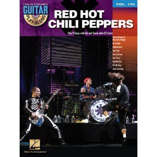Red Hot Chili Peppers Guitar Play Along Volume 153 (Hal Leonard