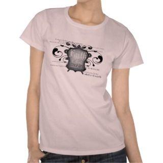 Shield of Faith (armor of God) womens t shirt