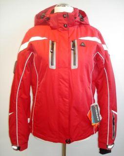 Damen Skijacke   Wintersportjacke   Icepeak Raila rot/weiß  Neu