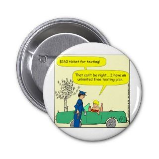 Free texting ticket color cartoon pins
