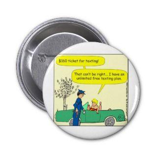 Free texting ticket color cartoon pins