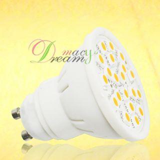 10pcs 5W GU10 Warm White 20 SMD 5050 LED Light Bulb Lamp 110 240V