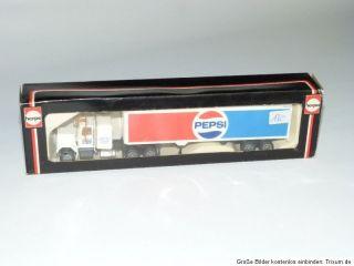 Herpa Sattelzug Pepsi Cola H0 / 187   OVP   Neu   851227