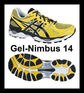 NEU Asics Gel Nimbus 14 T241N Herren Laufschuhe Jogging Schuhe Men