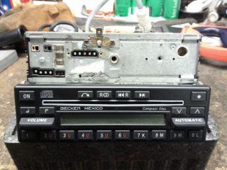 Becker Mexico CD 862 Mercedes Benz RADIO W126 560SEL 560SEC 500E W124