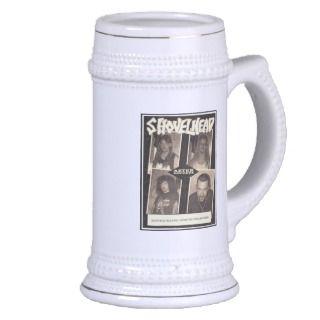 Vintage Shovelhead beer stein Mug